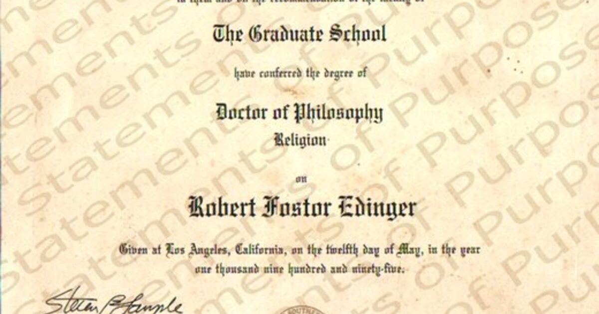 translation personal statement of purpose for graduate school